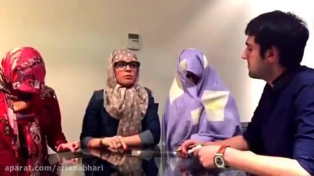 دابسمش ایرانی و سوتی خنده دار مسابقه ثانیه ها