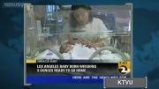 کوچیکترین نی نی دنیا از بیمارستان مرخص میشود