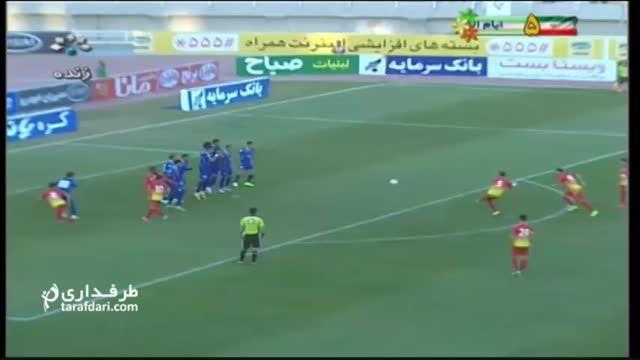 گل های بازی استقلال خوزستان 0-3 فولاد خوزستان