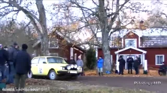 Rally Crash Compilation, The Best Swedish Rally Crashes
