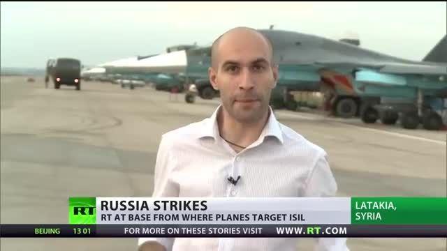 نگاهی به پایگاه هوایی روسیه در لازقیه سوریه 2015-10-01