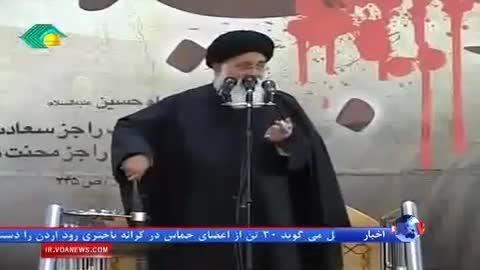 نظر علی مطهری درباره ی حصر