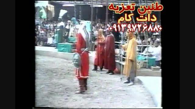 مرحوم مشایخی و صادق مشایخی در شهادت پسر حر ۱۳۷۵قودجان