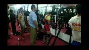 اسکوات 180 کیلوگرم  دسته وزنی 66 کیلو رده سنی نوجوانان