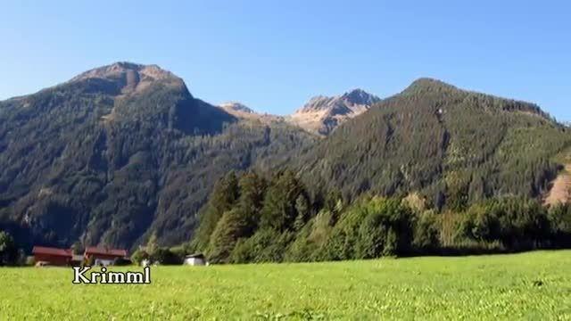 ویدیویی زیبا از کریمل، بلندترین آبشار اروپا
