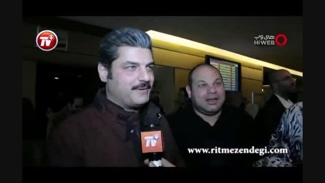مصاحبه ی کوتاه با آقای درخشانی در روز دوم جشنواره