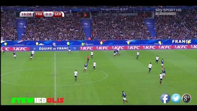 صدای وحشتناک انفجار در بازی آلمان - فرانسه در پاریس