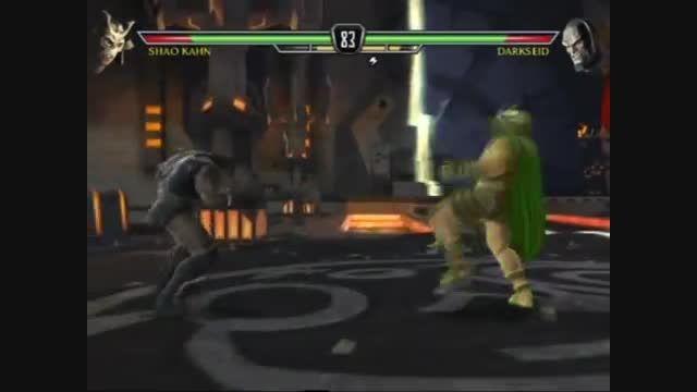 Darkseid در برابر Shao Kahn