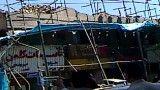 ریزش ساختمان در یکی از خیابان های تهران