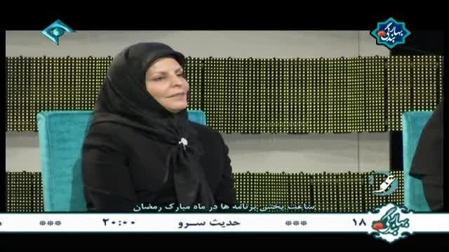 گفتگو با خانم زاهد کارآفرین - استان زنجان