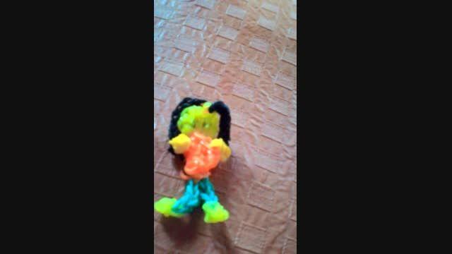 عروسک فانی بافت