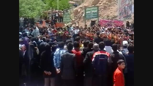 مسابقه محله در شهر چرمهین ( ویدئو شماره یک )