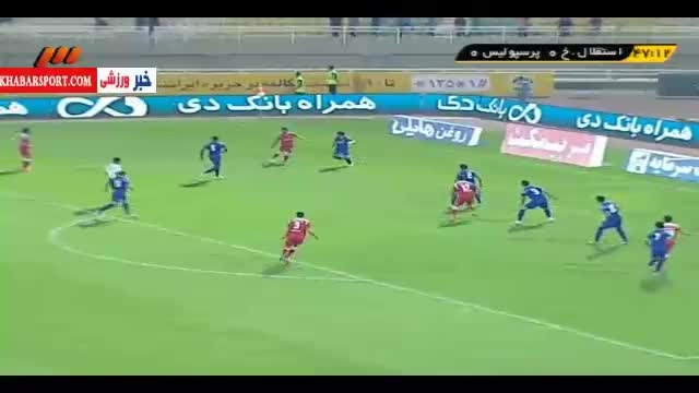 گل طارمی؛ استقلال خوزستان-پرسپولیس