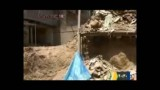 ریزش ساختمان بر به خاطر گودبرداری غیر اصولی