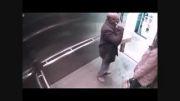 خودزنی مامور پلیس در آسانسور