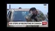تبلیغات داعش برای جذب نیرو در کانادا(ویدئو)