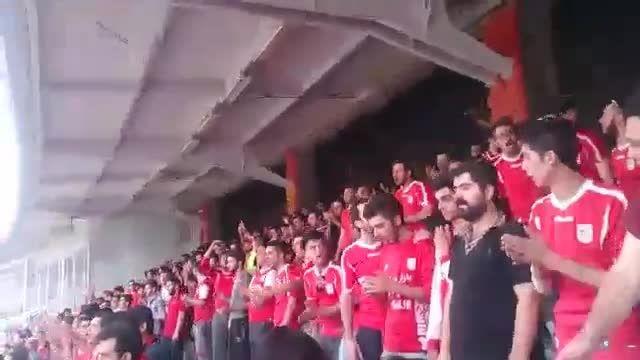 شعار مرگ بر تاج (انقلاب در فوتبال ایران)+زیر نویس فارسی