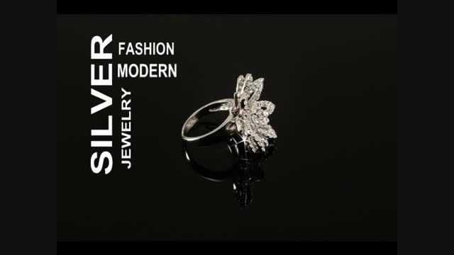انواع مدلهای جواهرات نقره دست ساز برند