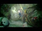 نجات معجزه آسا کوهنورد نوجوان از سقوط در آبشار ۱۳۰ متری