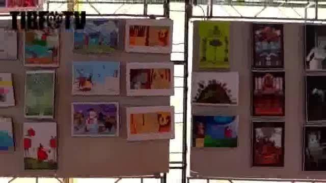 نمایشگاه تصویرگری کتاب کودک