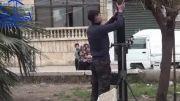 سوریه :آموزش انداختن خمپاره به کودکان توسط تروریست ها