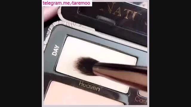 آرایش طبیعی و دخترانه چشم در تارمو
