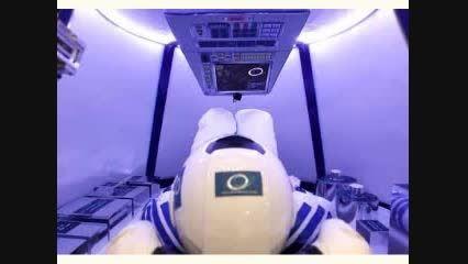 نمونه اولیه فضاپیمای سرنشین دار ایرانی رونمایی شد