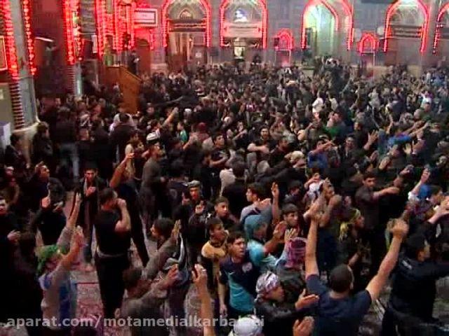 شور در صحن امام حسین علیه السلام در - اربعین حسینی