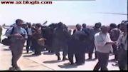 هاشمی رفسنجانی در زمان ریاست جمهوری در قزوین / مرداد 71