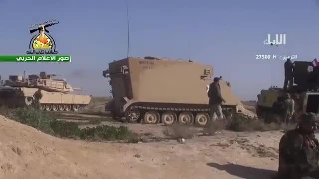 عملیات کتائب حزب الله علیه داعش در رمادی