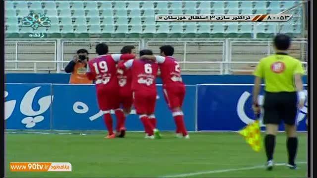 گل فوق العاده ی تیموریان به استقلال خوزستان