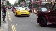 خودروی میلیونرها در لندن