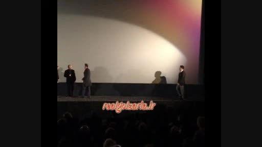 استقبال از محمدرضا گلزار در جشنواره برلین فیلم احمدزاده