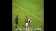 کلیپ نادراز مردن ناگهانی و عجیب فوتبالیست عربستان دروسط بازی