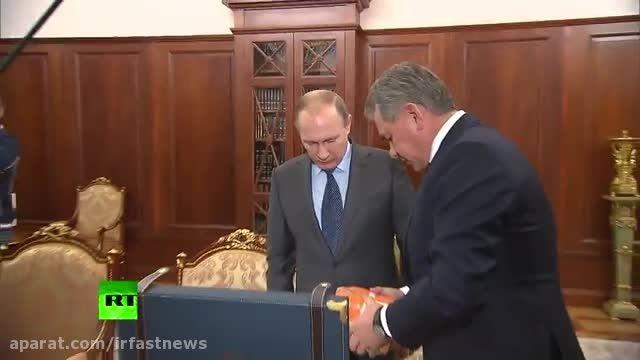 جعبه سیاه هواپیمای روسی توسط وزیر دفاع به پوتین رسید