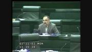 سوال اعلمی از وزیر اطلاعات در مورد قاچاق سوخت(قسمت اول)