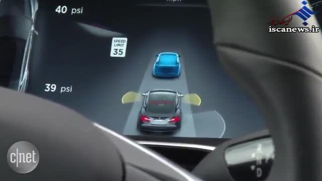 تست رانندگی بدون راننده خودرو جدید شرکت تسلا