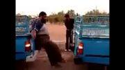 قدرت بدنی مرد ایرانی