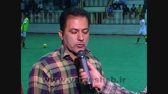 آغاز مسابقات فوتسال جام رمضان زاهدان