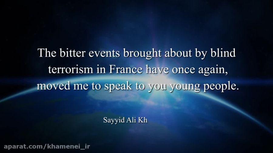 نامه رهبر انقلاب اسلامی به جوانان در کشورهای غربی