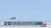 جنگنده ایرانی پهپاد آمریکا را در خلیج فارس تحت تعقیب قرارداد