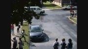حمله وحشیانه پلیس به دختر دبیرستانی