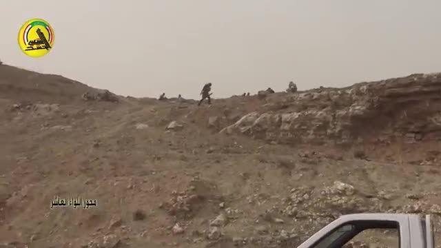 حمله سپاه بدر عراق به داعش در کوه های مکحول شمال بیجی