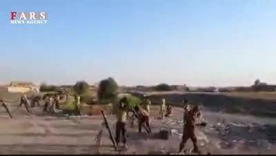 پاکسازی «کوه های منطقه حمرین» تکریت از داعش