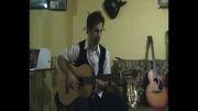 اهنگ داریوش  دستای تو با نوازندگی گیتار احمد زنوری