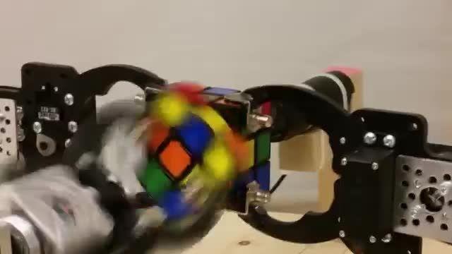 حل مکعب روبیک توسط FPGA