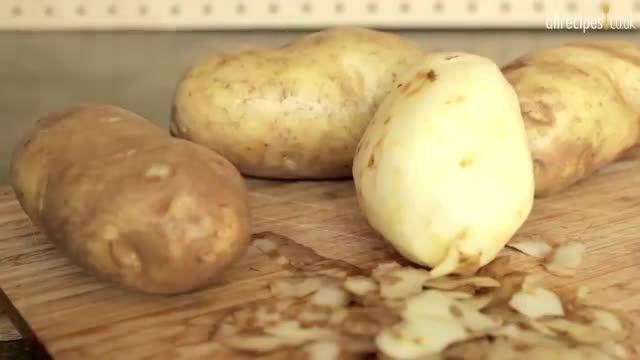 طرز تهیه گراتن سیب زمینى