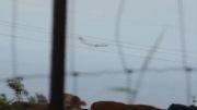سفینه فضایی هواپیمای C-17 را تعقیب میکند!!!