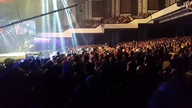 محسن تنابنده و احمد مهرانفر در کنسرت خنده حسن ریوندی