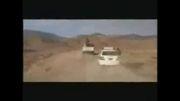 درگیری پلیس با اشرار در جاده بم
